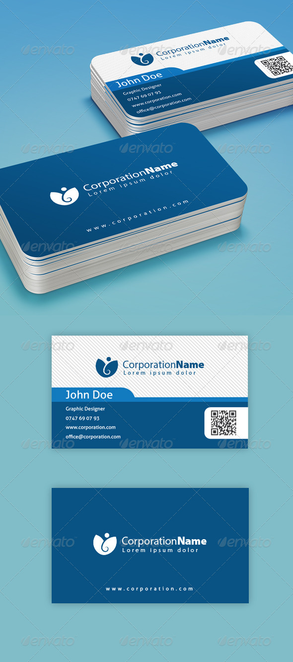 GraphicRiver Corporation Business Card 6621086