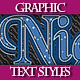Set of Colorful Various Text Graphic Styles. - GraphicRiver Item for Sale