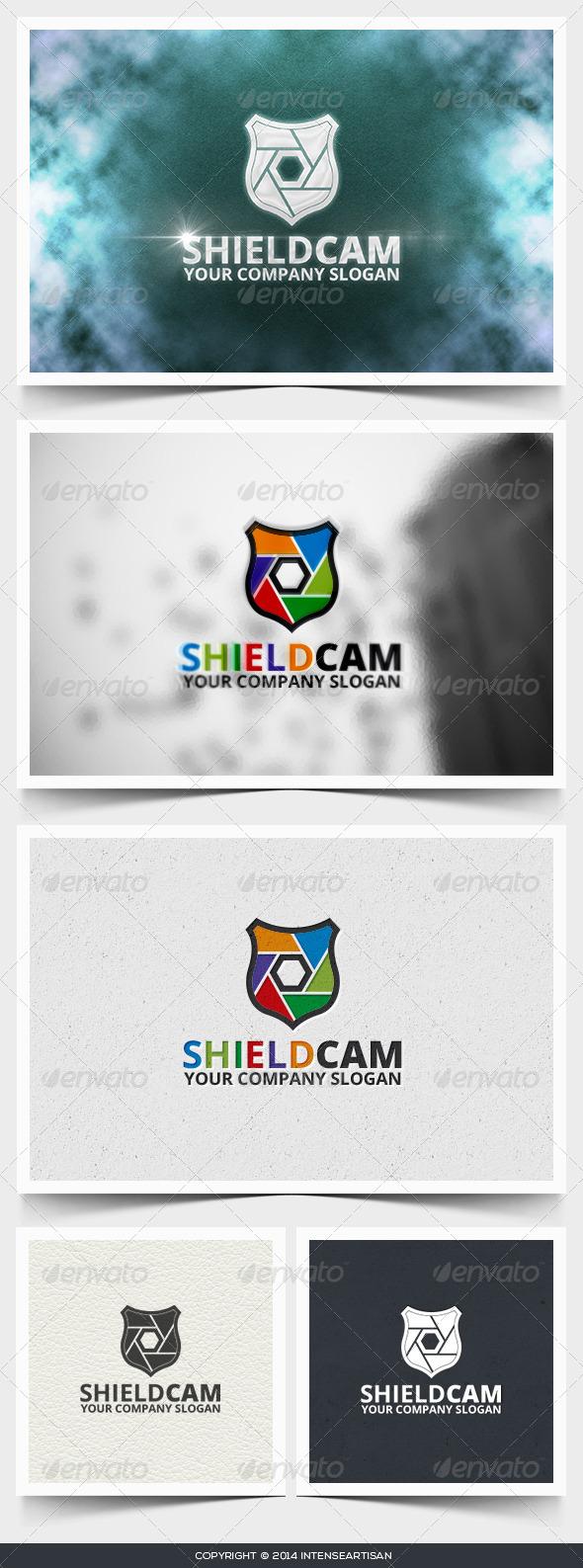 GraphicRiver Shield Cam Logo Template 6662143