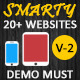 Smarty | Mobile & Tablet Responsive Web Template