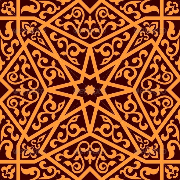GraphicRiver Arabian Seamless Pattern 6662149