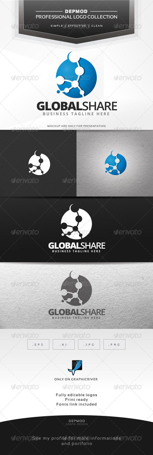 GraphicRiver Global Share Logo 6662166