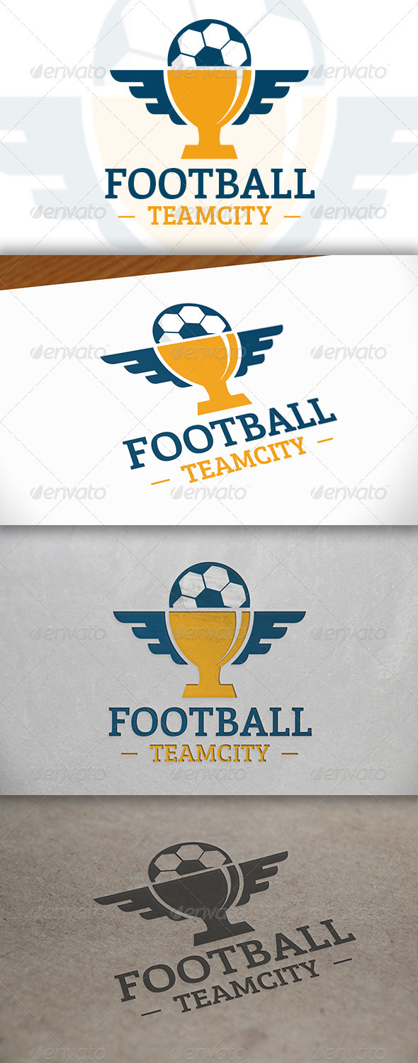 GraphicRiver Football Cup Logo 6662169