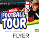 Football Cup Tour Flyer Template