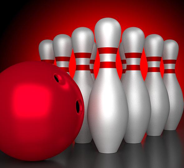 3DOcean Realistic Bowling Set 6662657