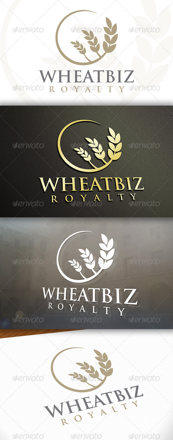 GraphicRiver Wheat Logo 6662712
