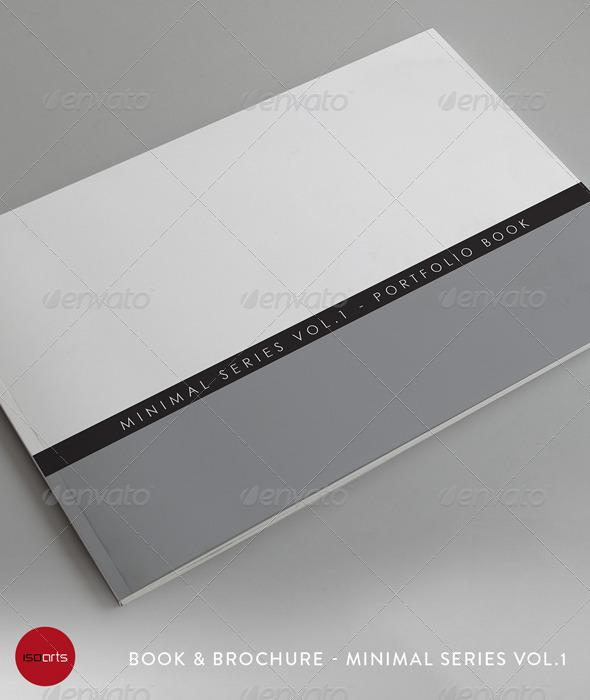 Minimal Series • Landscape Brochure Template - Photo Albums Print Templates