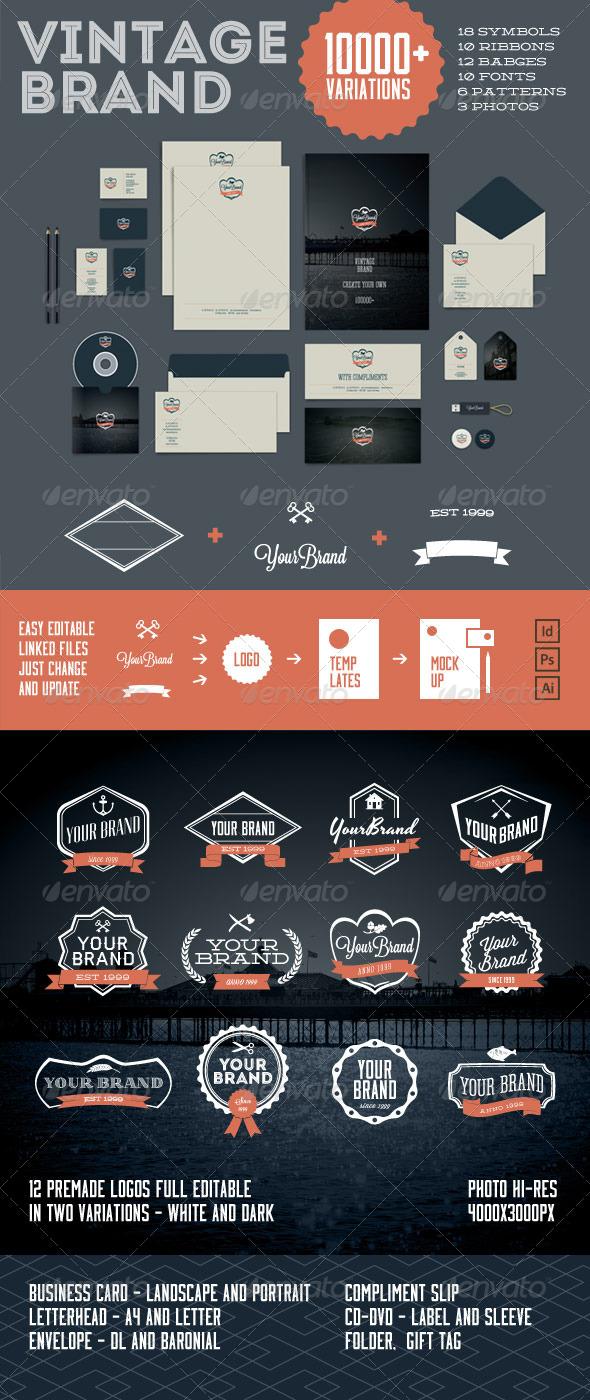 GraphicRiver Vintage Brand 10000& 6662724