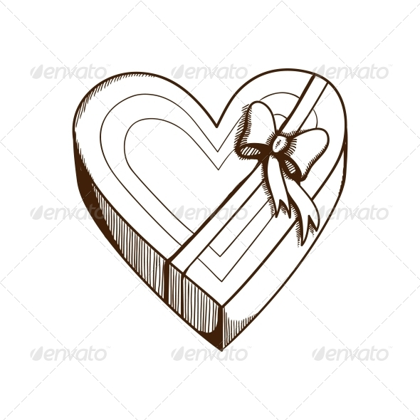 GraphicRiver Heart Present Box 6662745
