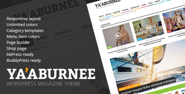 Ya'aburnee - Magazine & E-Commerce Theme