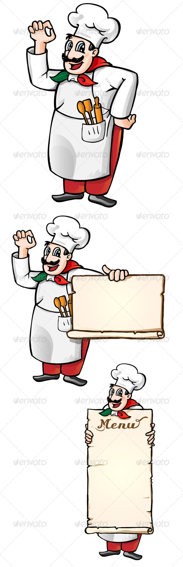 GraphicRiver Italian Chef 6663159