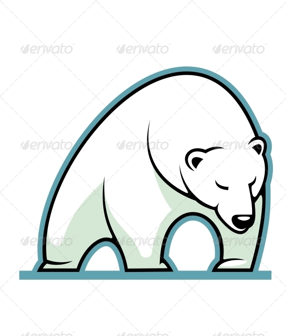 GraphicRiver Polar Bear 6663203