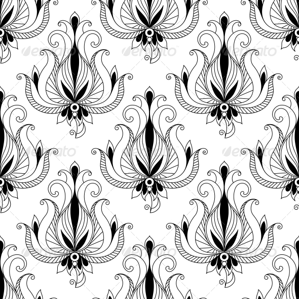 GraphicRiver Floral Seamless Pattern 6663237