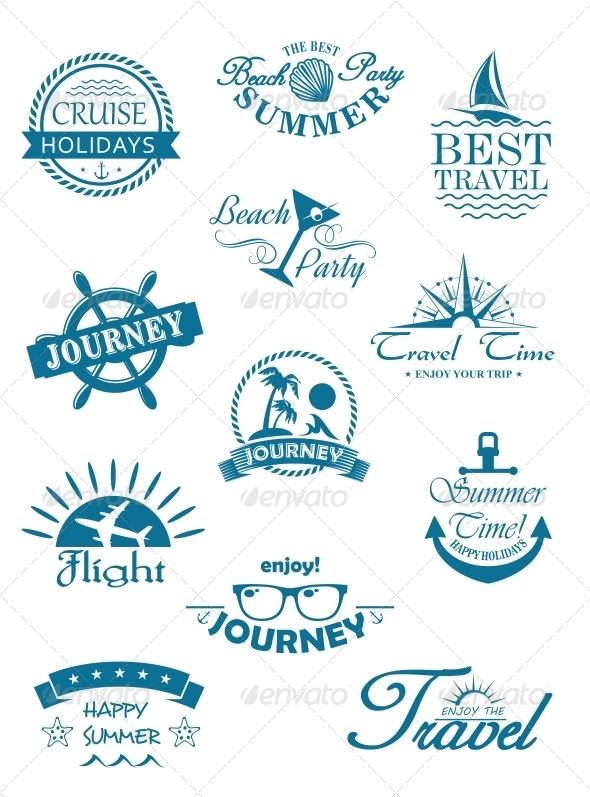GraphicRiver Collection of Travel Icons 6663259