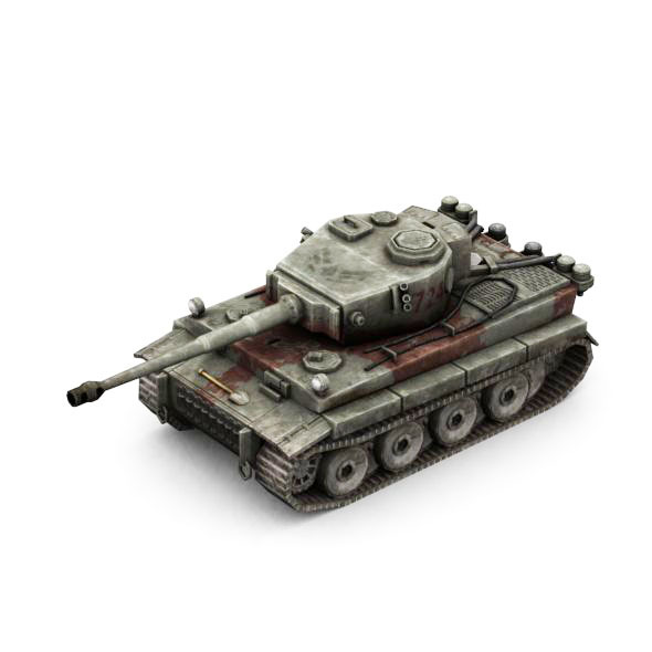 Military Modern War Heavy Tank Red