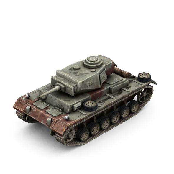 3DOcean Military Modern War Light Tank Red 6663456