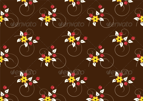 Dark Background with Red Bunch - Stock Photo - Images