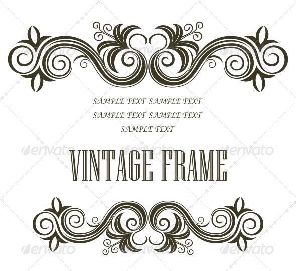 GraphicRiver Vintage Frame 6663671