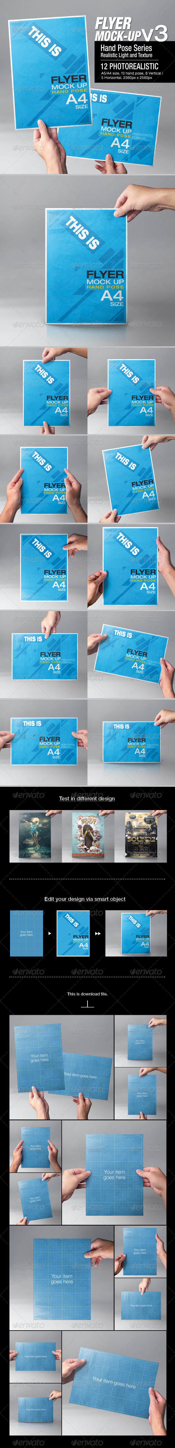 GraphicRiver Flyer Mock-Up v3 6658980