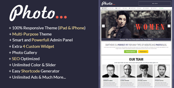 ThemeForest Photography 6582245