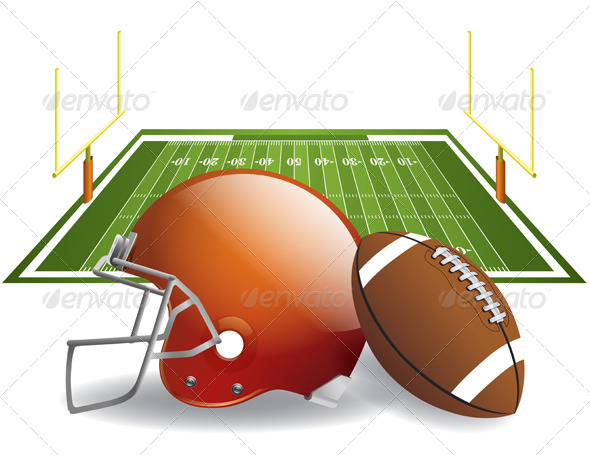 GraphicRiver American Football 6665306