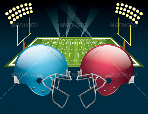 GraphicRiver American Football 6665312