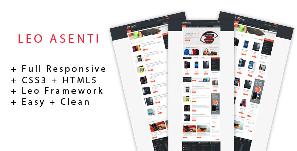 Image of Leo Asenti Prestashop Theme