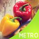Metro Style Fast Food Menu
