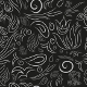 Vector Botanical Ornate Seamless Pattern