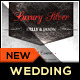 Royal Silver Chrome Wedding Invitation Package - GraphicRiver Item for Sale