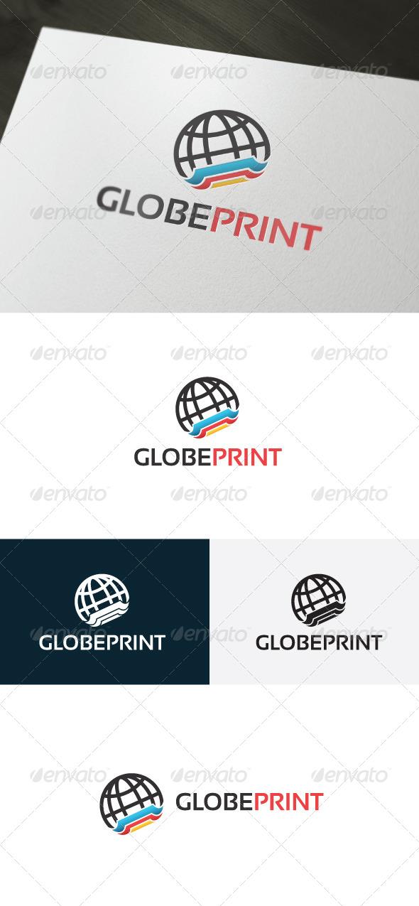 GraphicRiver Globe Print Logo 6666562