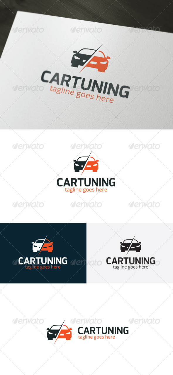 GraphicRiver Car Tuning Logo 6666869