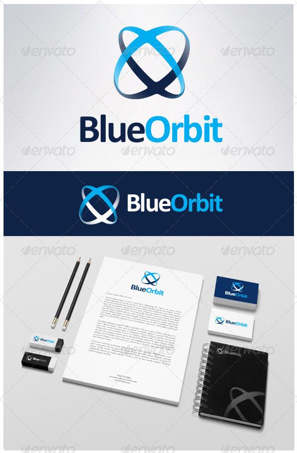 GraphicRiver Blueorbit logo 6667161