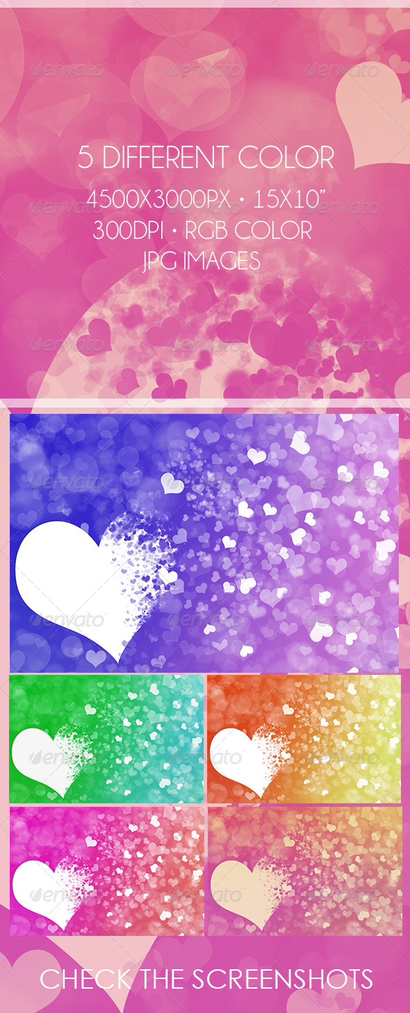 GraphicRiver Abstract Valentine s Day Background 6667227