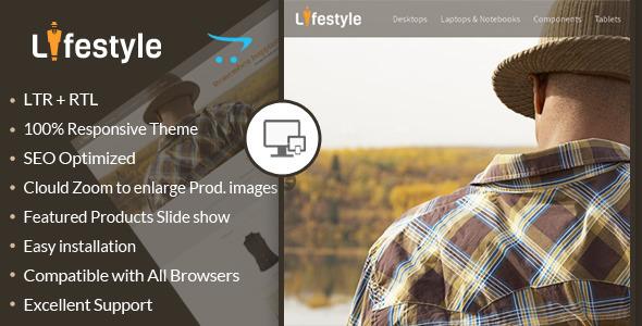 ThemeForest LifeStyle Opencart Responsive Theme 6667287