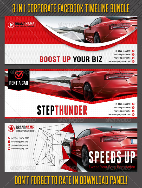 GraphicRiver 3 in 1 Corporate Facebook Timeline Bundle 01 6667531