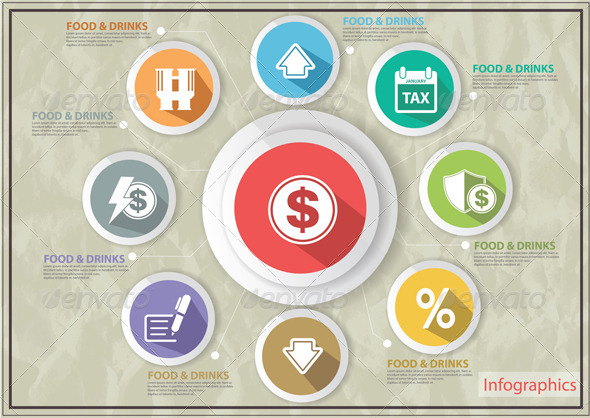 GraphicRiver Finance Concept Icons 6667781