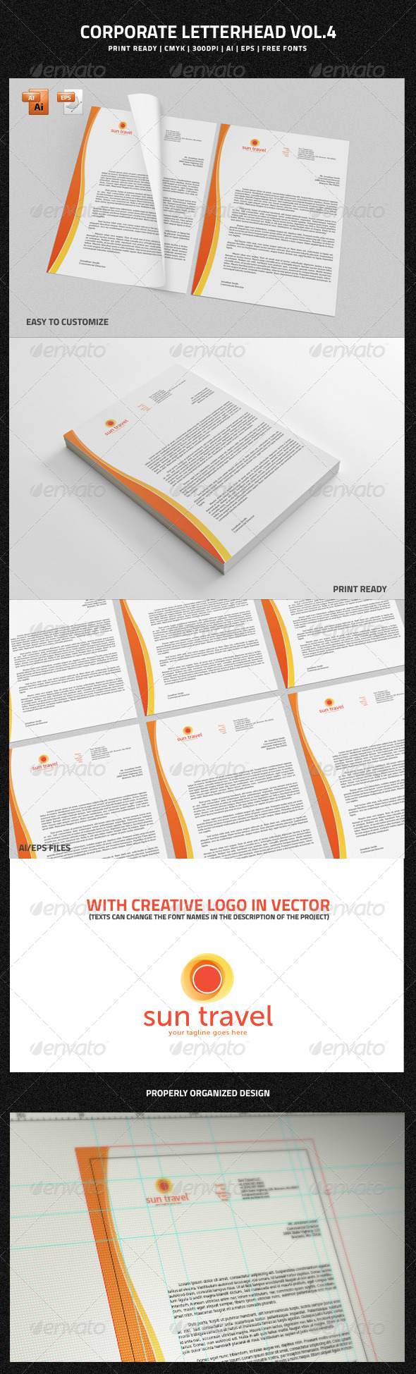 GraphicRiver Corporate Letterhead vol.4 6669343