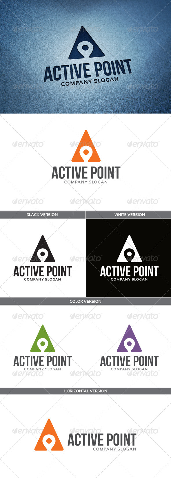 GraphicRiver ActivePoint Logo 6669394