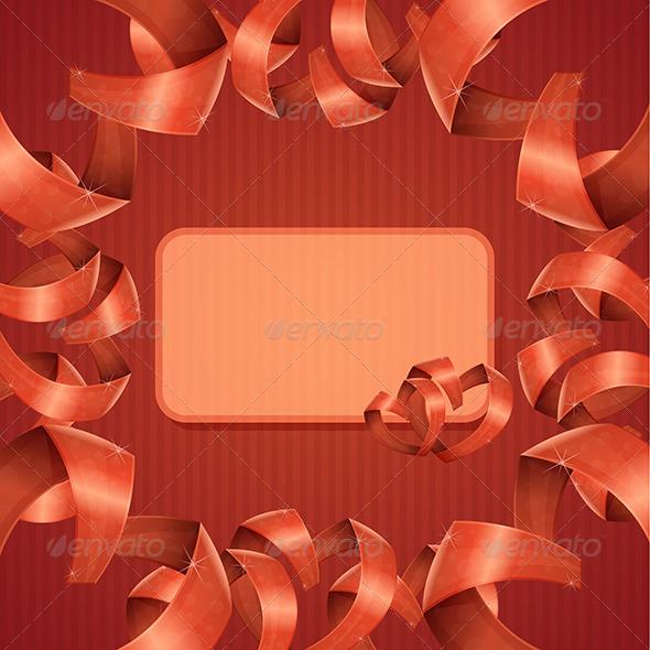 GraphicRiver Card Heart Ribbon 6669554
