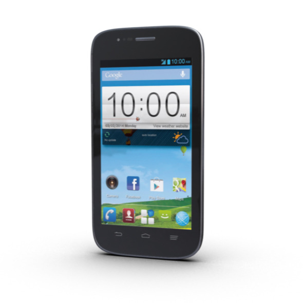 ZTE Blade Q Mobile Phone Model - 3DOcean Item for Sale