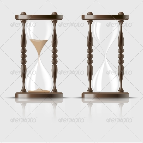 GraphicRiver Sand Falling in the Hourglass 6670136