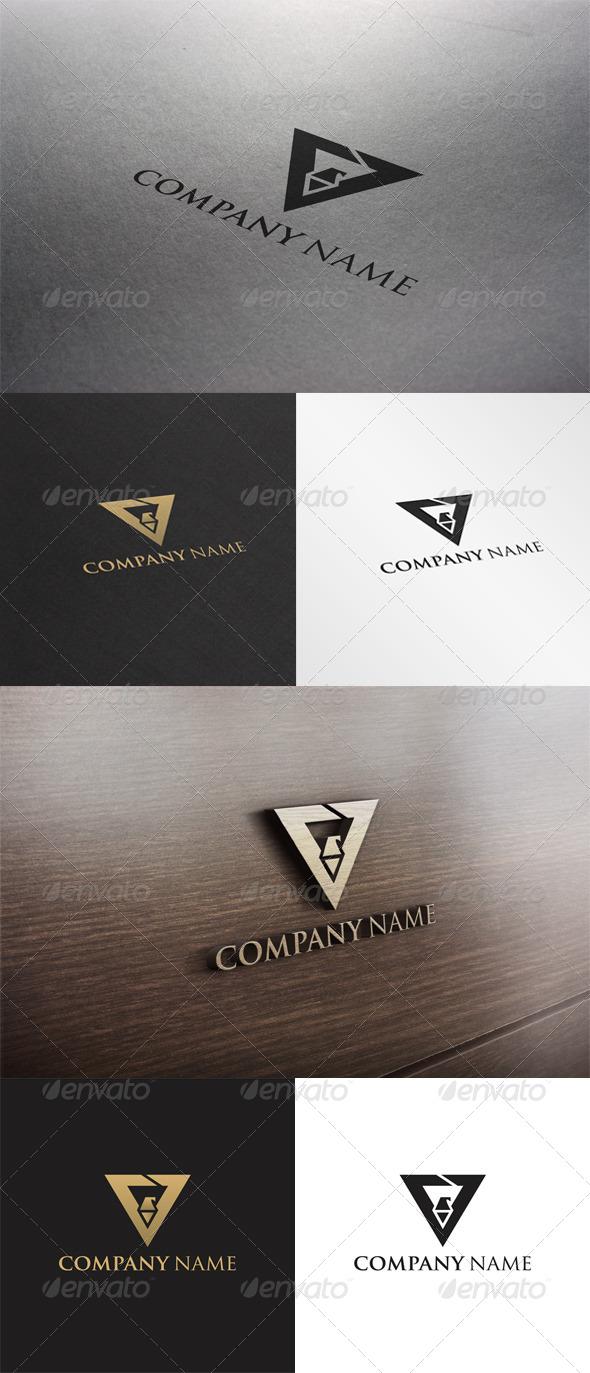 GraphicRiver V Letter Logo 6669777