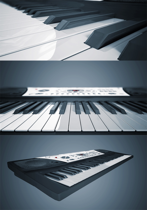 3DOcean Musical Keyboard 6670669