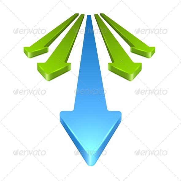 GraphicRiver 3D Arrows 6671286