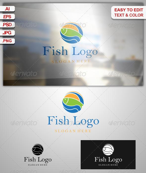 GraphicRiver Fish Logo 6671301