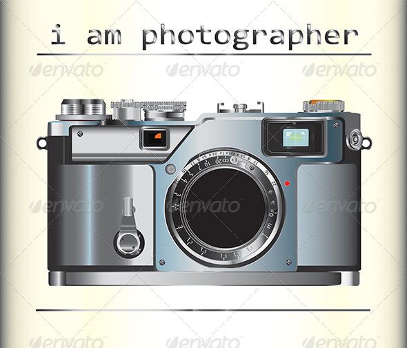 GraphicRiver Camera Vector 6608384