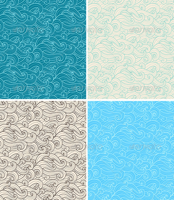 GraphicRiver Seamless Pattern with Curl 6671534