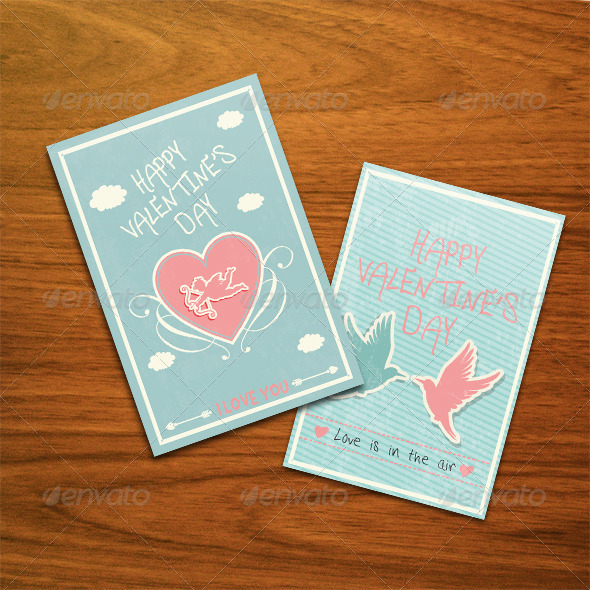 GraphicRiver Valentine's Day Cards 6671536