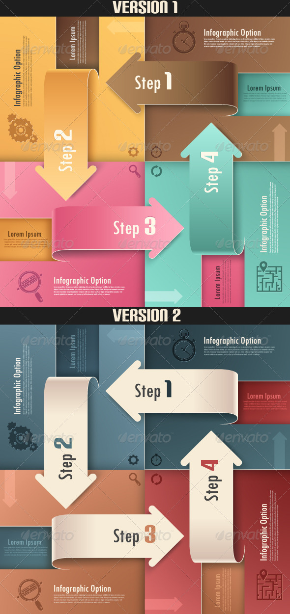 GraphicRiver Modern Infographics Options Banner Two Versions 6671539